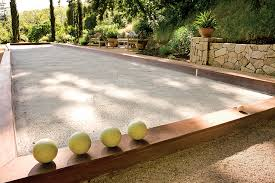 Bocce Court. This Court In Ross, California, Was Designed By David ... Bocce Ball Courts Grow Land Llc Awning On Backyard Court Extends Playamerican Canvas Ultrafast Court Build At Royals Palms Resort And Spa Commercial Gallery Build Backyards Wonderful Bocceejpg 8 Portfolio Idea Escape Pinterest Yards