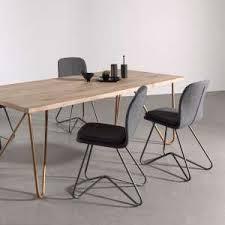 chaises de salle à manger design engageant chaises salle manger design 2 de cuisine salon a noir