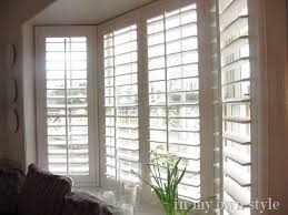 Wide Plantation Shutters On Bay Window From Smith Noble