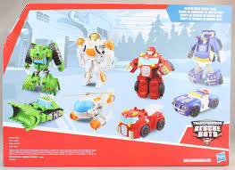 100 Rescue Bots Fire Truck Playskool Heroes Transformers Gryphon Rock