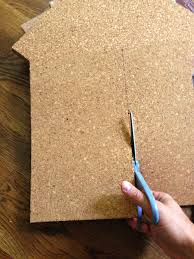 how to make a cork board wall for kid house