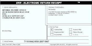 Certified Mail Return Receipt Cost 2014 Certified Letter Certified