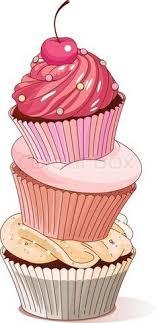 Cupcake drawing clipart