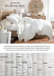 All White Bedding