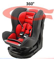 siege auto rotatif isofix mycarsit siège auto 360 groupe 0 1 de 0 à 18 kg carmin