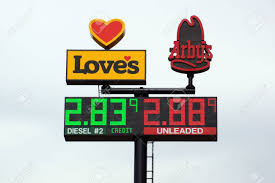 UTAH - JUNE 30: Loves Gas Station Travel Center And Arby's Signs ... Best Gas Prices Local Stations In Indiana Iowa 80 Truckstop Loves Travel Stop To Open Floyd Mason City North Sapp Bros Harrisonville Mo Travel Center More Parking Services And Hotels Focus Of 2018 Plan Fuel Latest News Breaking Stories Comment The Chester Fried Chicken At Stop Youtube Wikipedia Truck Stops Near Me Trucker Path Ambest Service Centers Ambuck Bonus Points Us Fuel Prices Keep Right On Climbing American
