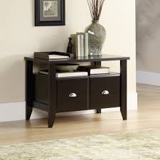 Sauder Shoal Creek Jamocha Wood Printer Stand