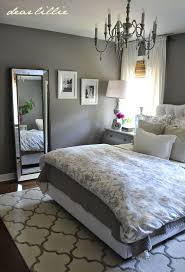 Grey And White Bedroom Decorating Soft Intended For Small Ideas
