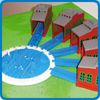 engine sheds and turntable thomas and friends trackmaster wiki