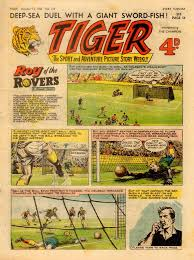Tin Shed Savage Mn Menu by Uk Print Archive Tiger 0110 Cbz Egmont Fleetway Tiger Rotr