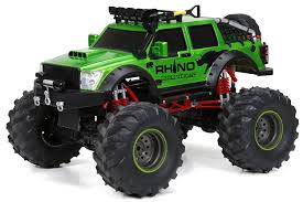 Amazon.com: New Bright F/F 9.6V 4x4 Rhino Expeditions RC Vehicle (1 ... Buy Webby Remote Controlled Rock Crawler Monster Truck Green Online Radio Control Electric Rc Buggy 1 10 Brushless 4x4 Trucks Traxxas Stampede Lcg 110 Rtr Black E3s Toyota Hilux Truggy Scx Scale Truck Crawling The 360341 Bigfoot Blue Ebay Vxl 4wd Wtqi Metal Chassis Rc Car 4wd 124 Hbx 4 Wheel Drive Originally Hsp 94862 Savagery 18 Nitro Powered Adventures Altered Beast Scale Update Bestale 118 Offroad Vehicle 24ghz Cars