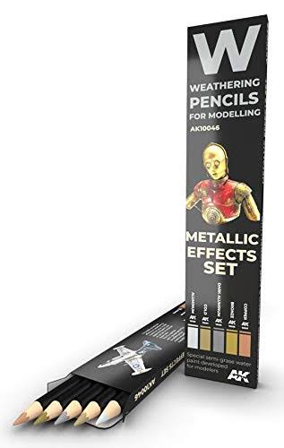 Watercolor Pencil Set - Metallic Effects