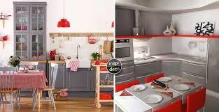 deco cuisine grise et cuisine grise et 15 exemples pour vous faire une idée