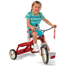 radio flyer classic red dual deck tricycle walmart com