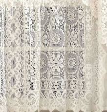 White Lace Curtains Target by First Class Lace Curtain Panels Cavalier Lace Curtain Panel And