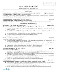 Investment Banking Resume Example Banker Template Sample Pdf Associate 12