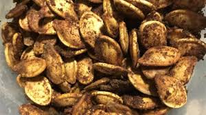 Toasting Pumpkin Seeds In The Oven by Cajun Spiced Roasted Pumpkin Seeds Recipe Allrecipes Com