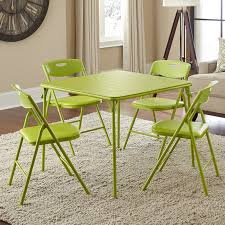 Cosco 34 In. Square Table And Chair Set - 5 Piece Set   EBay The 10 Best Folding Card Table Sets To Raise The Stakes Come Gamenight Cosco 5piece Padded Vinyl Chair Set Stoneberry Fniture At Lowescom Dorel Industries Square Top Ding Or Kids Camo With Green Frame 37457cam1e Home And Office Reviews Wayfair 5 Piece Pinchfree Ebay Amazoncom In Teal Products Wood With Seat Steamer Sco Vinyl Table Without Introyoutube Youtube And Chicco High
