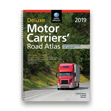 100 North American Trucking 2019 Deluxe Motor Carriers Road Atlas