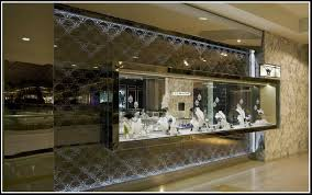 See Box Like Window Display Creates A Floating Glass Jewelry Store