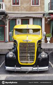 100 Vintage Dodge Trucks Bangkok Thailand March 31 2018 Front Of Antique Truck