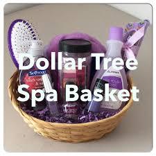 DIY Dollar Tree SPA Gift Basket For Mothers Day Valentines Birthday