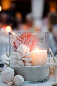Beach Chic centerpiece Embellish Party Rentals Naples Fl