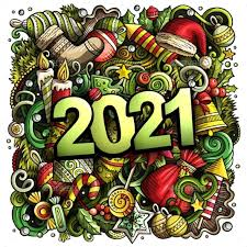Items Where Year Is 2021 2021 Doodles Illustration New Year