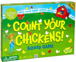 Childrens Playtime With Five New Cooperative Board Games By Peaceable Kingdom Count Your Chickens