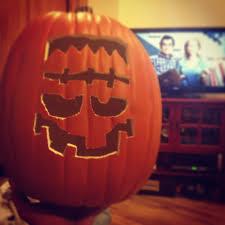Frankenstein Pumpkin Stencil Free by Minion Pumpkins Halloween Diy