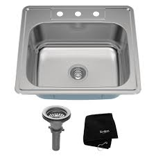 Kraus Sinks Kitchen Sink by Topmount Kitchen Sinks Stainless Steel Kitchen Sinks Kitchen