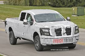 Caught! 2016 Nissan Titan Testing Photo & Image Gallery Nissan Charges Back Onto The Fullsize Pickup Truck Battlefield With 2017 Titan Halfton In Crew Cab Form Priced From 35975 2012 Pro4x First Test Motor Trend Renault Alaskan Reveal Allnew Neu Midsize On All New Titan Xd Full Size Production Begins At Canton Appears With Stylish Muscular Bonnet And Large Expands Pickup Line Truck Talk Vans Cars And Trucks 2004 Brooksville Fl Vs Toyota Tundra Fullsize Comparison Youtube 2018 Frontier Midsize Rugged Usa Named North American Truckutility Of Year