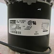 Fasco Bathroom Exhaust Fan Motor by Amazon Com Blw00451 Trane Furnace Draft Inducer Exhaust Vent