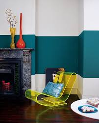 Teal Living Room Walls by Cool Painting Ideas That Turn Walls And Ceilings Into A Statement