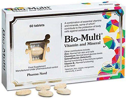 Pharma Nord Bio-Multi Vitamin & Mineral - 60 Tablets