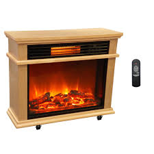 Decor Flame Infrared Electric Stove Manual by Costway Free Standing Electric 1500w Fireplace Heater Fire Flame
