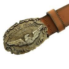 armani jeans dark tan casual leather belt q6123 81 ajm2259 at