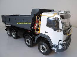 100 Rc Model Trucks Vlv FMX 8 X 8 Dump Truck