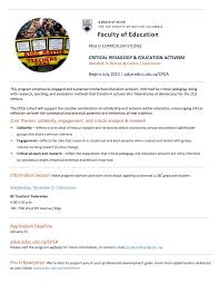 Invitation Letter Ubc More Information Pdceeducubcca CPEA Cover Example Resumes