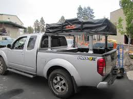 Thule Exporter Truck Bed Rack Cascadia Vehicle Roof Top Tents