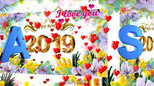 102 MB A💖S Letter Whatsapp Status Video Happy New Year 2019