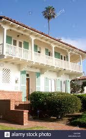 100 Beach Houses In La Two Story California Beach House In Jolla Stock Photo