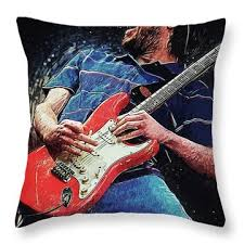 Fender Jaguar Throw Pillows