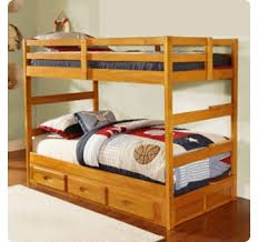discovery world furniture twin over twin honey mission bunk bed