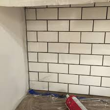 new laundry room subway tile grout tips tricks sue