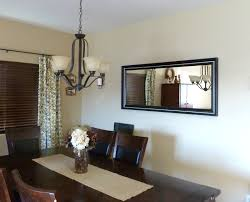 Dining Room Mirrors Decoration Options Home Design Round Living