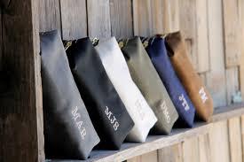 Neuman Christmas Tree Bags by Dopp Kit Bag Groomsmen Gift Leather Toiletry Bag With Monogram