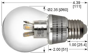 led a19 bulb e26 base dimmable clear lens 7w replace up to 60w