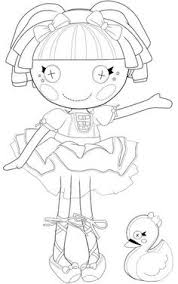 Lalaloopsy Coloring Page Free Printables For Kids Word Search Puzzles Pages