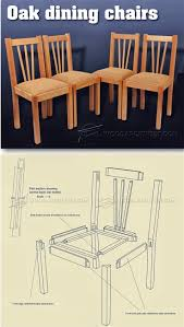 100 Wooden Dining Chairs Plans Oak Chair Furniture And Projects